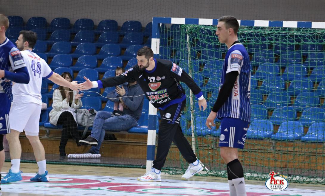 MOL-PICK SZEGED - RK Metaloplastika Sabac felkészülési mérkőzés (2019.01.25.) 16
