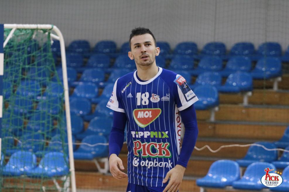 MOL-PICK SZEGED - RK Metaloplastika Sabac felkészülési mérkőzés (2019.01.25.) 17