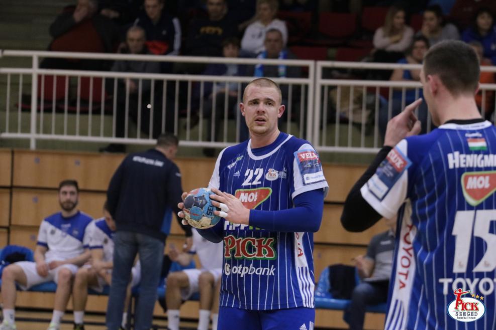 MOL-PICK SZEGED - RK Metaloplastika Sabac felkészülési mérkőzés (2019.01.25.) 20