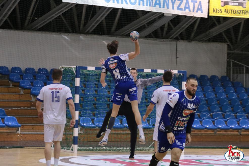 MOL-PICK SZEGED - RK Metaloplastika Sabac felkészülési mérkőzés (2019.01.25.) 33