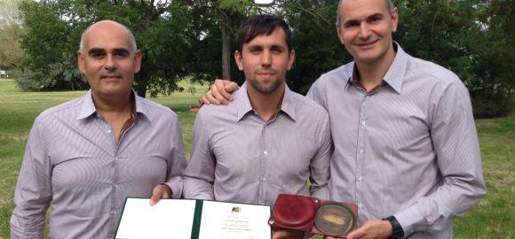 A megye sportjáért emlékérmet kapott a MOL-Pick Szeged