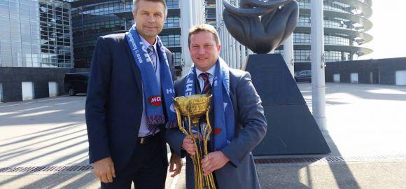 Strasbourgba is eljutott a MOL-Pick Szeged EHF-kupa serlege