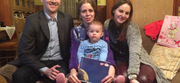 Átadtuk az adományt a Kekezovics-családnak
