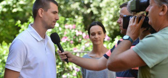 A háromgyermekes édesapa, Marin Sego BL-győztesként érkezik Szegedre