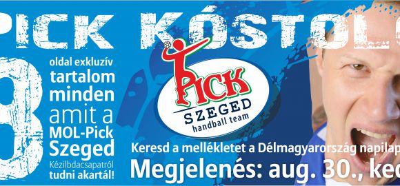 Pick Kóstoló augusztus 30-án a Délmagyarországban