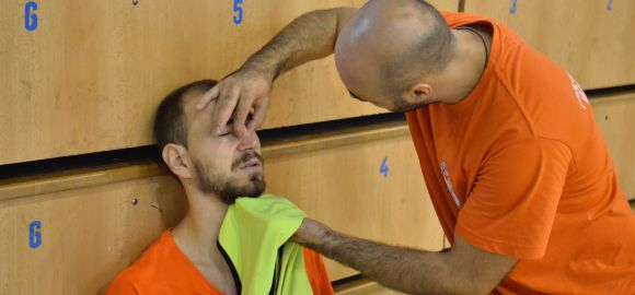 Sandro Obranovic orrtörést szenvedett