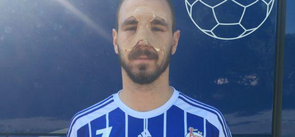 Sandro Obranovic nem játszik az Eger ellen