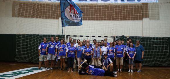 Szurkolói fotózás a MOL-Pick Szeged csapatával