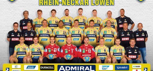 Bemutatjuk a Rhein-Neckar Löwen csapatát