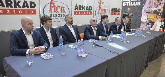 Sajtótájékoztatót tartottunk az ÁRKÁD Szegedben