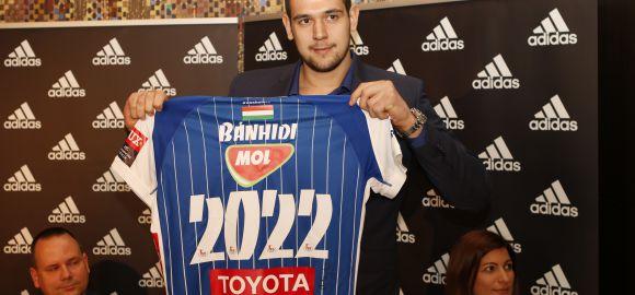 Bánhidi Bence: 2022-ig MOL-PICK Szeged!