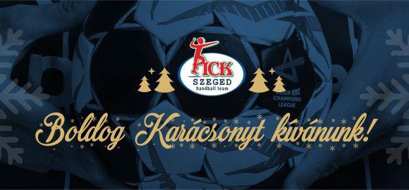 Boldog Karácsonyt Minden MOL-PICK Szeged Szurkolónak!