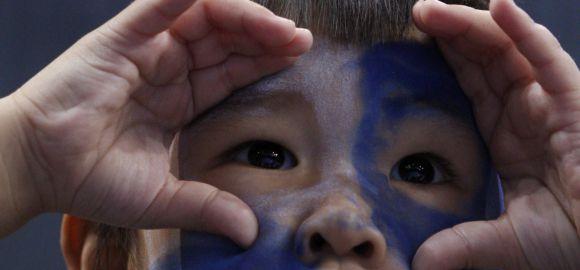 Tajvaniak a kékek között
