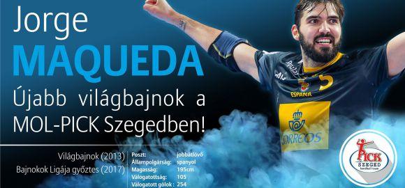 Jorge Maqueda: nyártól MOL-PICK Szeged