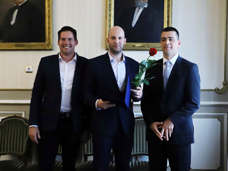 Balogh Zsolt Szeged Sportolója díjat kapott