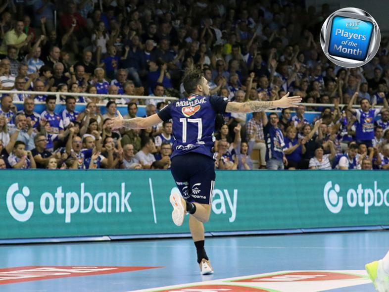Radivojevics lett a hónap játékosa az EHF-nél