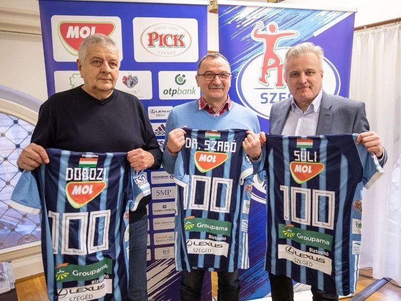 A #HandballFamily századosait köszöntöttük