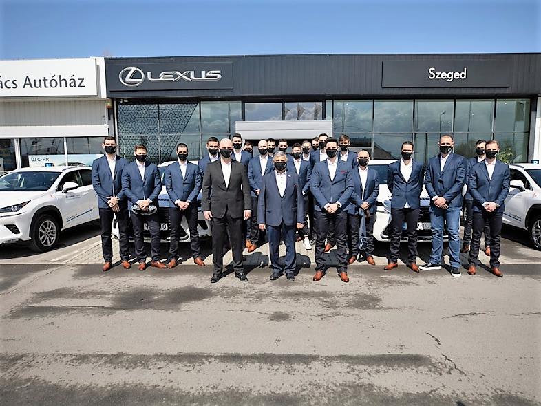 Folytatódik a MOL-PICK Szeged és a Lexus együttműködése