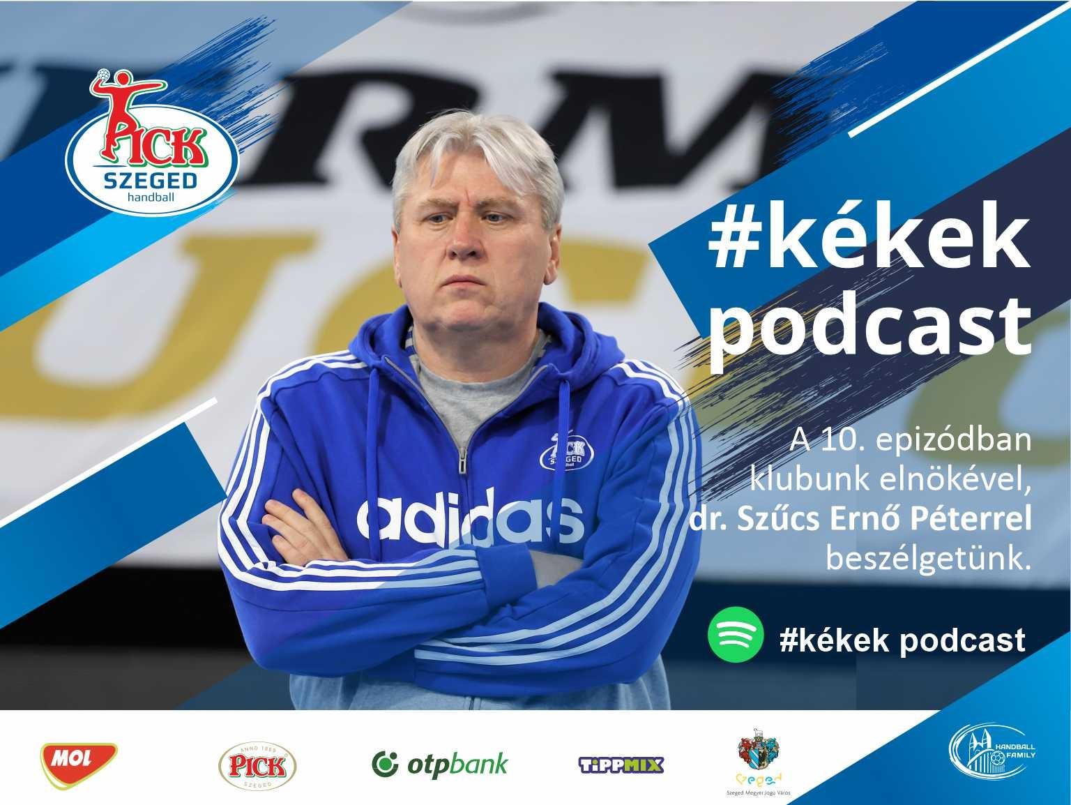 A 10. #kékek podcast vendége: dr. Szűcs Ernő Péter