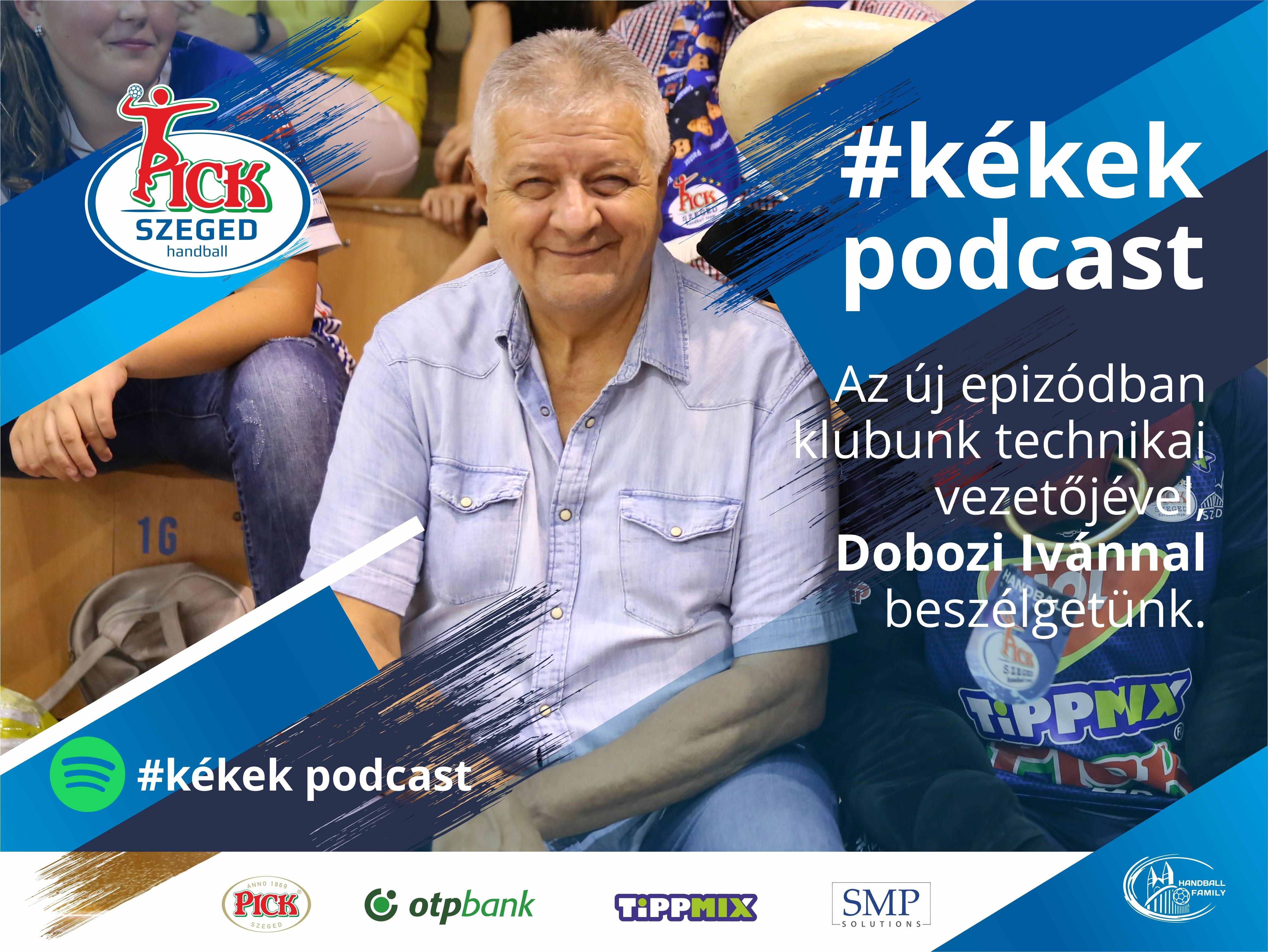 A 11. #kékek podcast vendége: Dobozi Iván