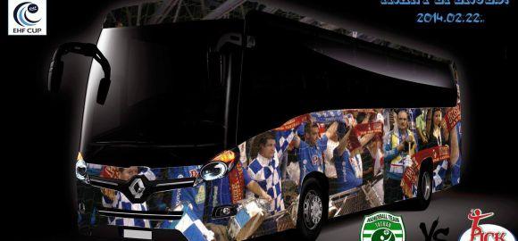Szurkolói busz Eperjesre és Veszprémbe