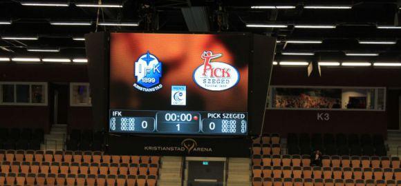 19 órától: IFK Kristianstad-Pick Szeged