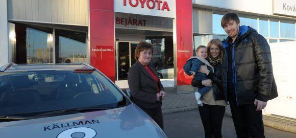 A Källman famíliai is Toyotával közelekedik